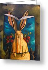 The Rabbit Story Greeting Card
