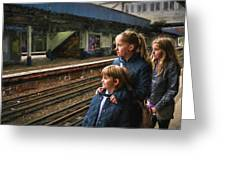 The Railway Children Greeting Card