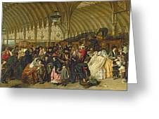 The Railway Station Greeting Card
