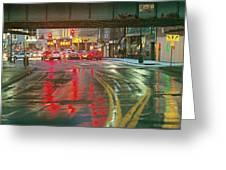 The Rain Painting Greeting Card