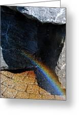 The Rainbow Fountain 3-5 Greeting Card