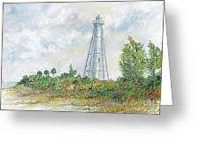 The Range Lighthouse Greeting Card
