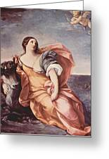 The Rape Of Europa 1639 Greeting Card