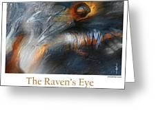 The Raven's Eye Greeting Card