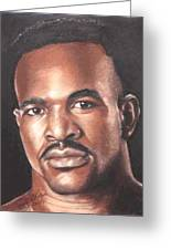 The Real Deal - Evander Holyfield Greeting Card