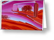 The Real Scoop On Shelby - Inaugural  Las Vegas Concours Poster Art Greeting Card