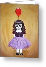 The Red Balloon Greeting Card