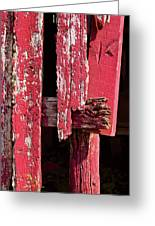 The Red Barn 4 Greeting Card