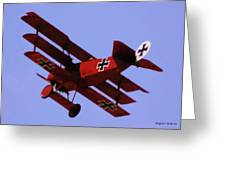 The Red Baron II Greeting Card