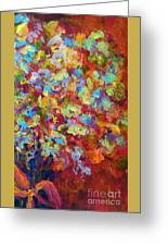 The Red Bouquet Greeting Card