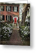 The Red Door - 2 Greeting Card