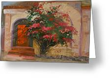 The Red Door - Catalina Island Greeting Card