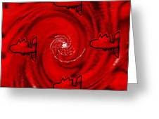 The Red Sea Greeting Card