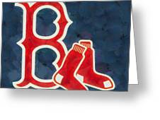 The Red Sox Greeting Card