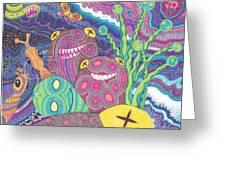 The Reef Greeting Card by Wendy Hagelgans