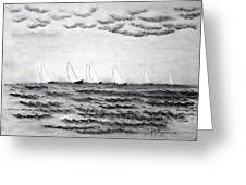 The Regatta Greeting Card