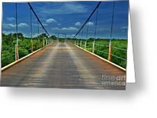 The Regency Bridge 3 Greeting Card