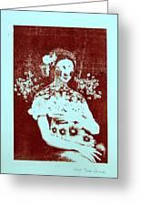 The Renaissance Woman Greeting Card