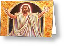 The Resurrection And The Life Greeting Card