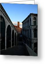 The Rialto At Sunrise Greeting Card