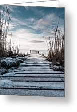 The Rickety Jetty Greeting Card