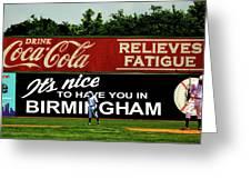 The Rickwood Classic - Birmingham Alabama Greeting Card