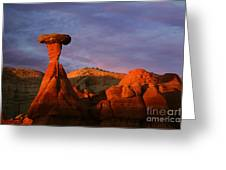 The Rim Rocks Greeting Card