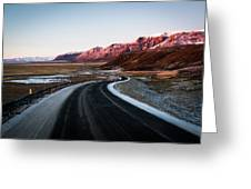 The Ring Road Greeting Card
