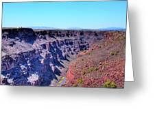 The Rio Grande Gorge Greeting Card