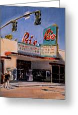 The Rio Theater Greeting Card