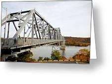 The Rip Van Winkle Bridge 4 Greeting Card