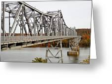 The Rip Van Winkle Bridge 5 Greeting Card