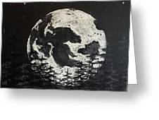 The Rise Of The Full Moon Greeting Card