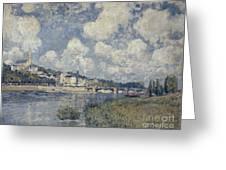 The River At Saint Cloud Greeting Card