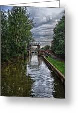 The River Foss Meets The River Ouse Greeting Card