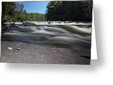 The River - Furnace Falls - Burnt River Greeting Card