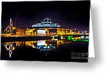The River Liffey Reflections 2 Greeting Card