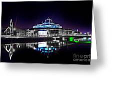 The River Liffey Reflections 2 V2 Greeting Card