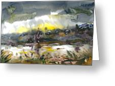 The River Nistru IIi Greeting Card