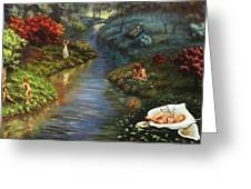 The River Of Life Greeting Card