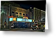 The Riveria Theater Greeting Card
