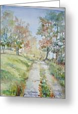 The Road Home Greeting Card by Dorothy Herron