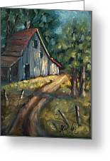 The Road Leads Home Greeting Card