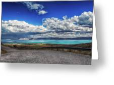 The Road To Bear Lake Greeting Card