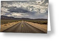The Road To Death Valley Greeting Card