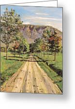 The Road To Evordes Greeting Card