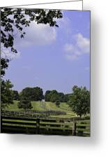 The Road To Lynchburg From Appomattox Virginia Greeting Card by Teresa Mucha