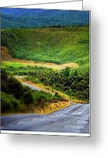 The Road To Milford Sound Greeting Card