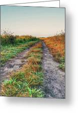The Road To Nowhere Greeting Card