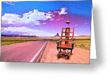 The Road To Perdition Greeting Card